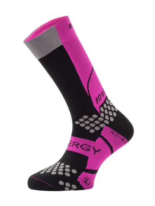 BIKE SAFETY PRO Negro/Fucsia